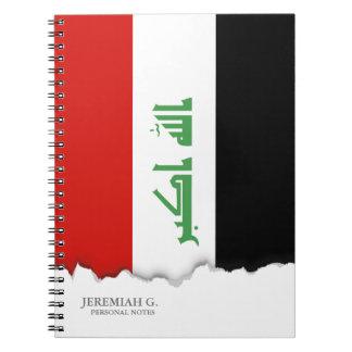 Iraqi Flag Notebook