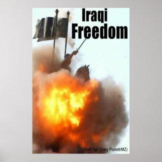 Iraqi Freedom Poster