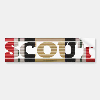 Iraqi Freedom Scout CMR Bumper Sticker