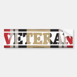 Iraqi Freedom Veteran  CMR Bumper Stickers