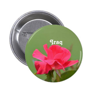 Iraqi Rose Pin