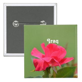 Iraqi Rose Buttons