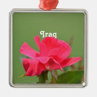 Iraqi Rose Ornament
