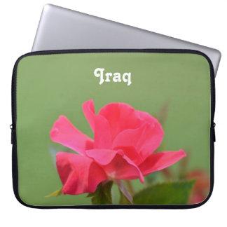 Iraqi Rose Laptop Computer Sleeves