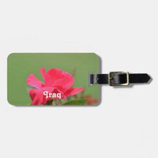 Iraqi Rose Luggage Tags