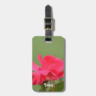 Iraqi Rose Tag For Luggage