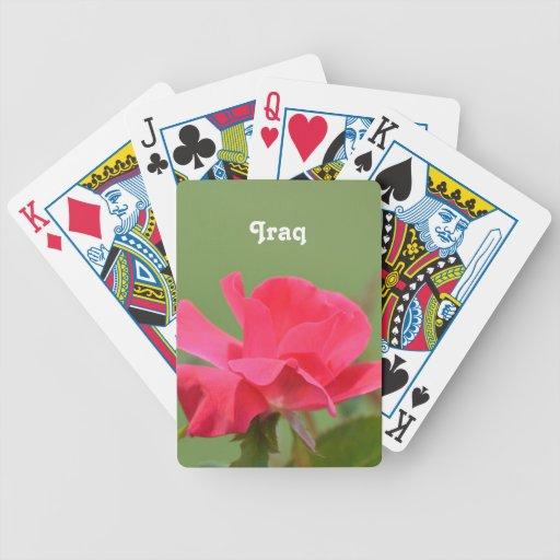 Iraqi Rose Card Decks