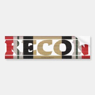 Iraqi Veteran Recon CMR Bumper Sticker