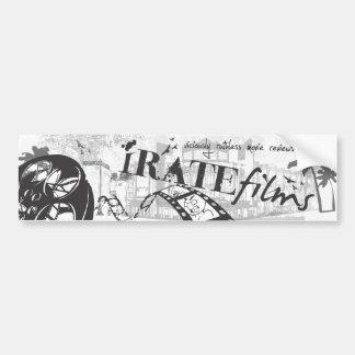 iRATE sticker Bumper Sticker
