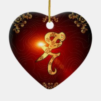 Iratze the rune ceramic ornament