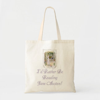 IRBR Jane Austen! Budget Tote, 5 colors