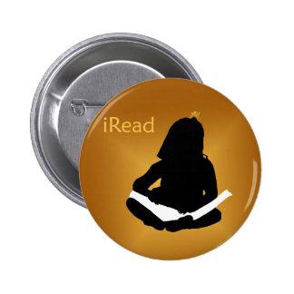 iRead 6 Cm Round Badge