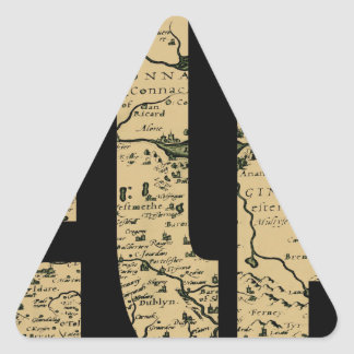 ireland1598b triangle sticker