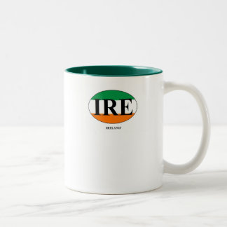 Ireland (2) Two-Tone coffee mug