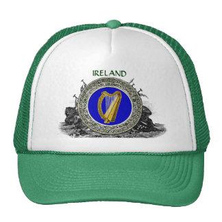 Ireland Arms Trucker Hats