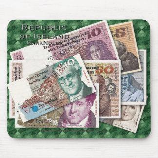 Ireland Banknotes Mousepad