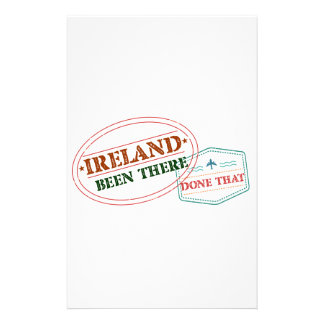 Ireland Been There Done That Stationery