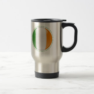 Ireland Bubble Flag Travel Mug