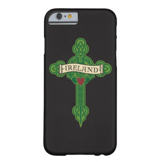 Ireland - Celtic Cross & Claddagh Barely There iPhone 6 Case
