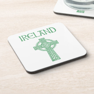 Ireland Celtic Cross Coaster
