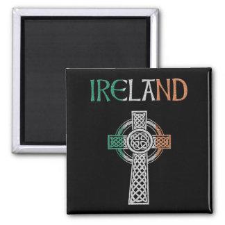 Ireland Celtic Cross Magnet