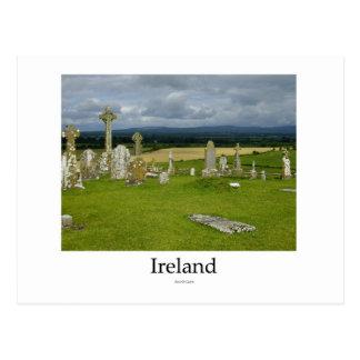 Ireland Cemetery Rock Of Cashel Postcards