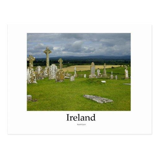 Ireland Cemetery, Rock Of Cashel Postcards