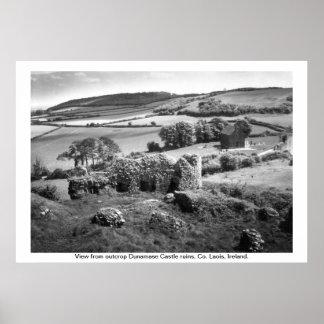 Ireland - Co. Laois, Dunamase Castle Poster