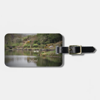 Ireland, County Cork, Lake, Swans, Photography Luggage Tag