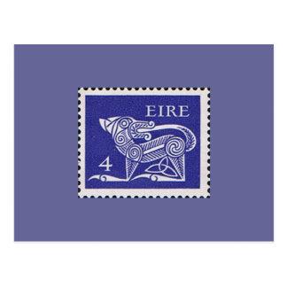 Ireland Decimal Postage stamp 1971 Postcard