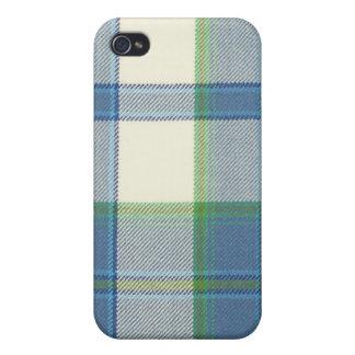 Ireland Dress Blue Tartan iPhone 4/4S Hard Case iPhone 4/4S Cover