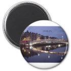 Ireland Dublin Bridge night (St.K) Magnet