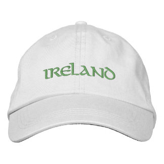 Ireland Embroidered Hat