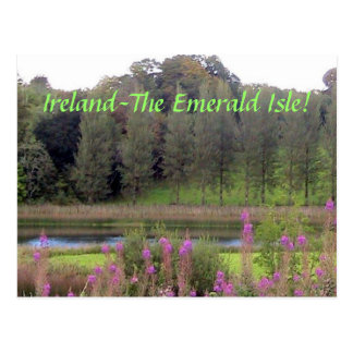 Ireland( Emerald Isle) Postcard
