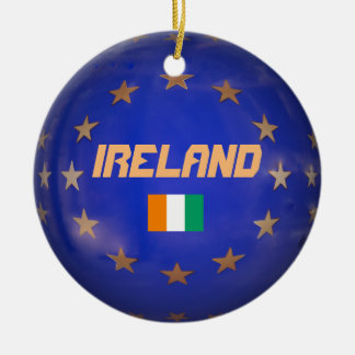 Ireland European Union Christmas Ornament