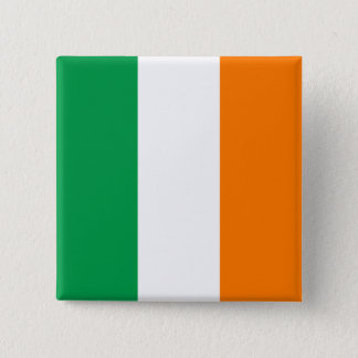 Ireland Flag 15 Cm Square Badge
