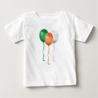 Ireland Flag Balloons Baby T-Shirt