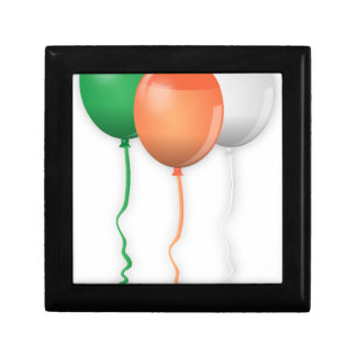 Ireland Flag Balloons Gift Box