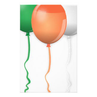 Ireland Flag Balloons Stationery