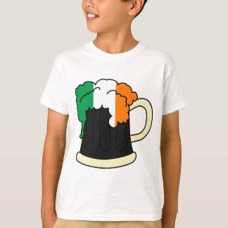 Ireland Flag Beer Mug T-Shirt