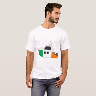 Ireland Flag Boat T-Shirt