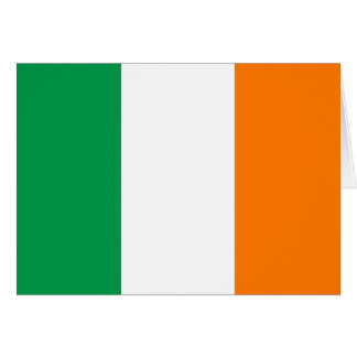Ireland Flag Note Card