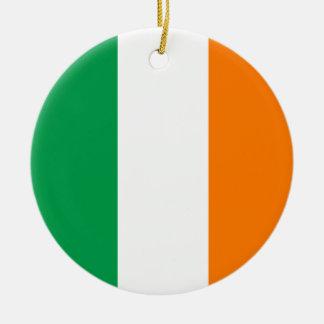 Ireland Flag Ceramic Ornament