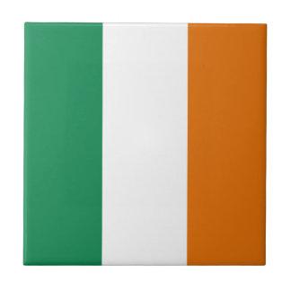 Ireland Flag Ceramic Tile