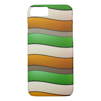 Ireland Flag Colors-Chrome by Shirley Taylor iPhone 8/7 Case