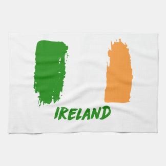 Ireland flag design tea towel