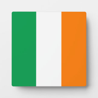 Ireland Flag Display Plaque