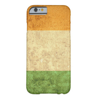 Ireland Flag - Grunge Barely There iPhone 6 Case
