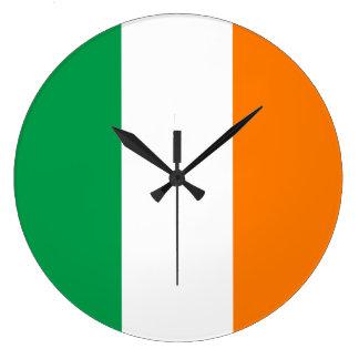 Ireland Flag Large Clock