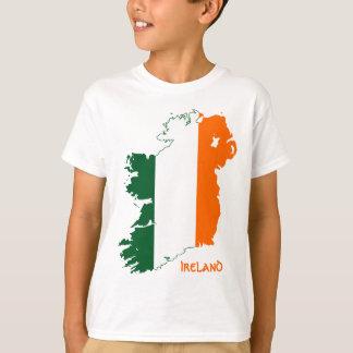 Ireland Flag Map T-Shirt